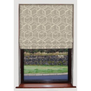 Katrina Burnished Roman Blind