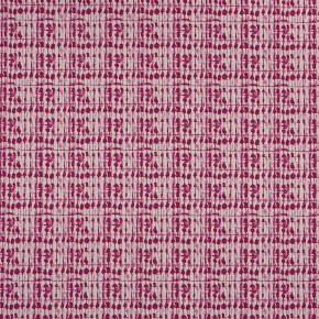 Clarke and Clarke Batik Kediri Raspberry Curtain Fabric