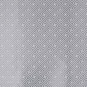Prestigious Textiles Metro Key Silver Curtain Fabric