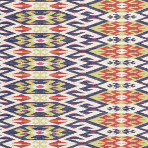 Clarke and Clarke Salon Kilim Crush Made to Measure Curtains