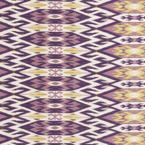 Clarke and Clarke Salon Kilim Passion Curtain Fabric