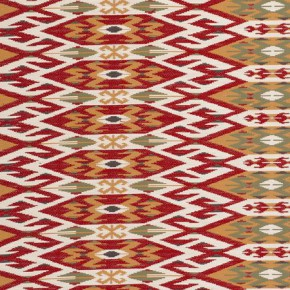 Clarke and Clarke Salon Kilim Spice Cushion Covers