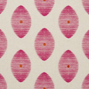 Clarke and Clarke Zanzibar Kindu Fuchsia Curtain Fabric