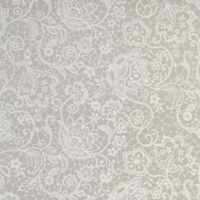 Clarke and Clarke Garden Party Lace Pebble Curtain Fabric