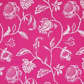 Sumatra Lahini Fuchsia Curtain Fabric