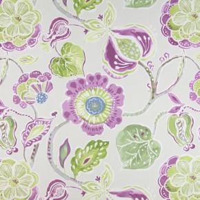 Soleil Lamorna Orchid Curtain Fabric