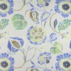 Soleil Lamorna Porcelain Made to Measure Curtains