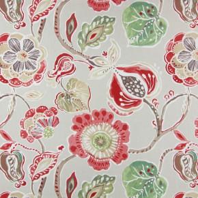 Soleil Lamorna Sienna Curtain Fabric