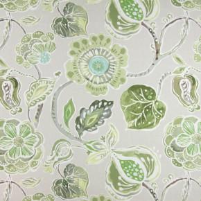 Soleil Lamorna Willow Curtain Fabric