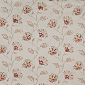 Prestigious Textiles Provence LaRochelle Paprika Curtain Fabric