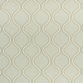 Clarke and Clarke Halcyon Layton Chartreuse Curtain Fabric