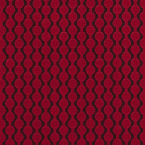 Clarke and Clarke Lazzaro Clarke and Clarke Lazzaro Red Made to Measure Curtains