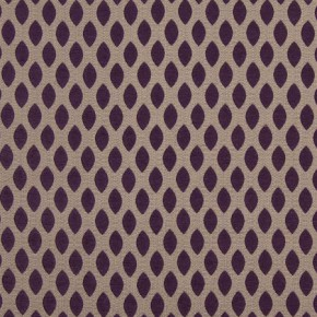 Renaissance Leo Purple Curtain Fabric