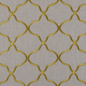 Clarke and Clarke Bukhara Leyla Citrus Curtain Fabric