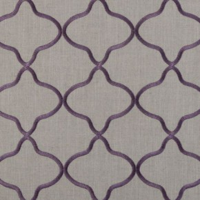 Clarke and Clarke Bukhara Leyla Heather Curtain Fabric