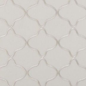 Clarke and Clarke Bukhara Leyla Ivory Curtain Fabric