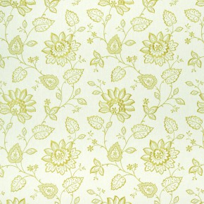 Clarke and Clarke Halcyon Liliana Apple Curtain Fabric