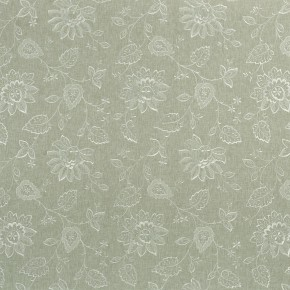 Clarke and Clarke Halcyon Liliana Dove Curtain Fabric