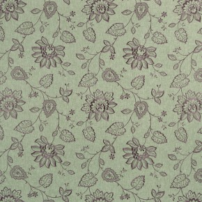 Clarke and Clarke Halcyon Liliana Heather Curtain Fabric