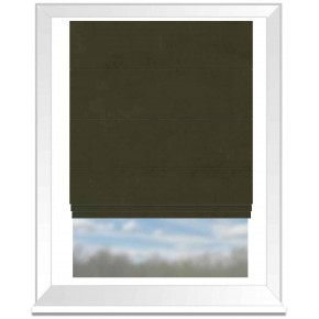 Clarke and Clarke Altea Loden Roman Blind