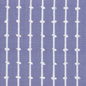Marina Loops  Larkspur Curtain Fabric