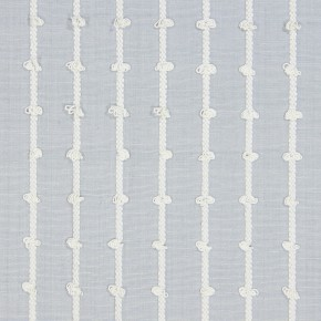 Marina Loops  Mist Curtain Fabric