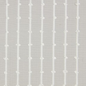 Marina Loops  Natural Curtain Fabric