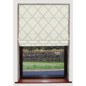 Lorenza Spearmint Roman Blind