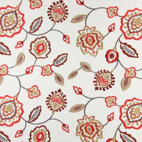 Sumatra Lovina Tabasco Curtain Fabric