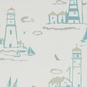 A Land and Sea Lowestoft Pastel Curtain Fabric