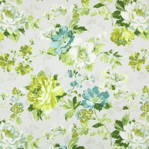 Italian Gardens Luciano Chartreuse Made to Measure Curtains