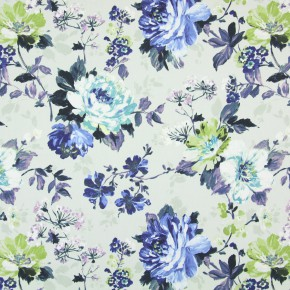 Italian Gardens Luciano Cobalt Made to Measure Curtains