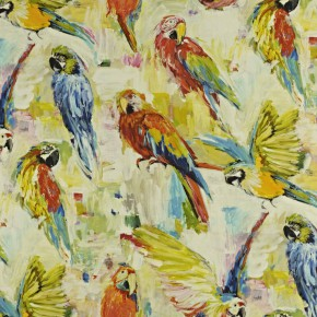 Mardi Gras Macaw Tropical Cushion Covers