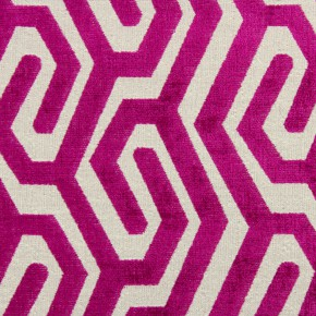 Rocco Maddox Magenta Cushion Covers