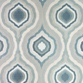Platinum Magnesium Teal Curtain Fabric