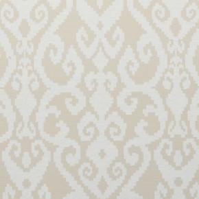 Clarke and Clarke Global Luxe Malika Ivory Curtain Fabric