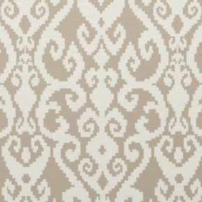 Clarke and Clarke Global Luxe Malika Sand Curtain Fabric