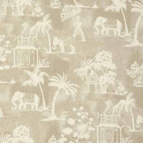 Clarke and Clarke Indienne Mandir Linen Curtain Fabric