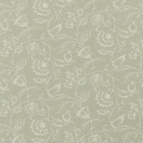 Clarke and Clarke Clarisse Marie Sage Curtain Fabric