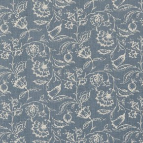 Clarke and Clarke Clarisse Marie Wedgewood Curtain Fabric