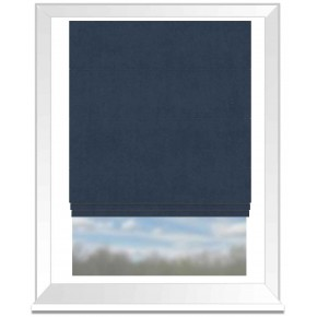 Clarke and Clarke Altea Marine Roman Blind