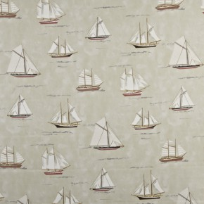 Prestigious Textiles Coast Mariner Coral Curtain Fabric