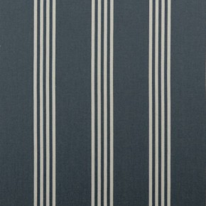 Clarke and Clarke Ticking Stripes Marlow Navy Cushion Covers