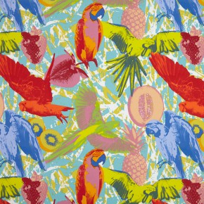 Diva Martinique Tropical Roman Blind