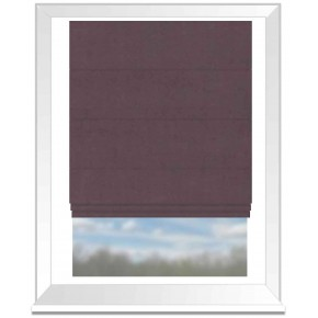 Clarke and Clarke Altea Mauve Roman Blind