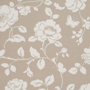 Clarke and Clarke Vintage Classics Meadow Taupe Curtain Fabric