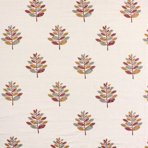 Opera Minuet Pomegranate Curtain Fabric
