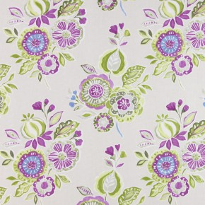 Soleil Mirabelle Orchid Curtain Fabric