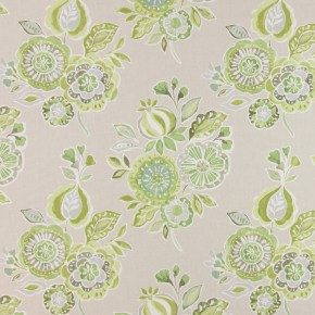 Soleil Mirabelle Willow Curtain Fabric