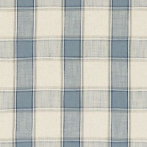 Clarke and Clarke Fairmont Montrose Denim Curtain Fabric